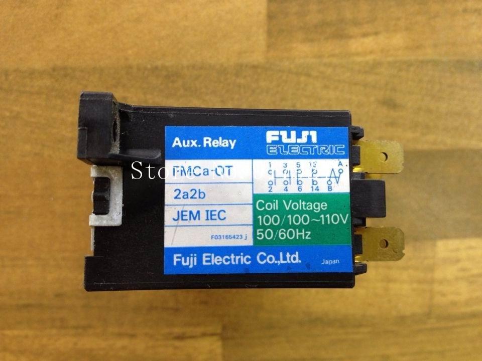 [ZOB] Fe FMCA-OT 110VAC 2NO+2NC contactor contactor Fuji Elevator genuine original --2pcs/lot цена