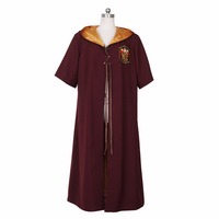 Halloween Potter Quidditch Robes Gryffindor Red Cape Harri Cosplay Costume Anime Anime High Quality Custom Made