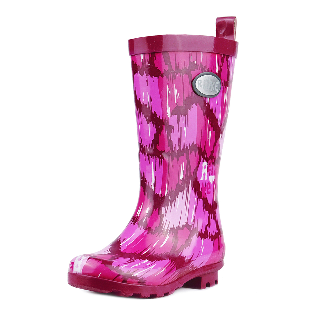 Boots Reike RRR19-021 HRT berry shoes for boys and girls childrens rubber boot цена 2017