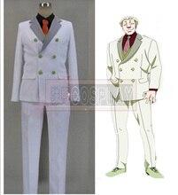 Free Transport Tokyo Ghoul Yakumo Oomori Yamori Cosplay Costume Males's White Swimsuit
