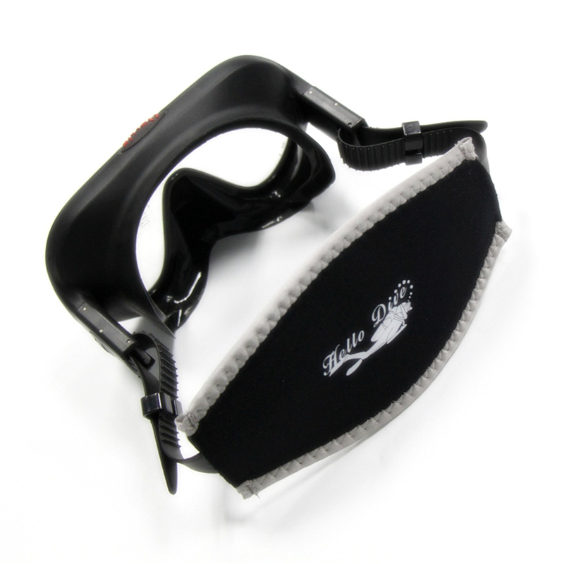 Diving Mask Strap Double Sided Hair Protector Snorkeling Mirror Belt Cover Band Wrapper in Diving Masks from Sports Entertainment