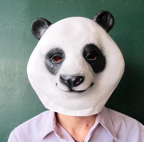 Disfraz de panda de máscara de cabeza de animal nuevo y caliente - Para fiestas y celebraciones - foto 1