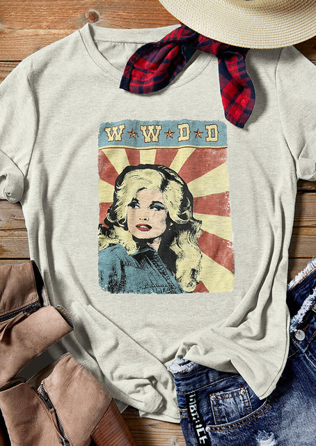 W W D D (What Would Dolly Do) Graphic T-Shirt