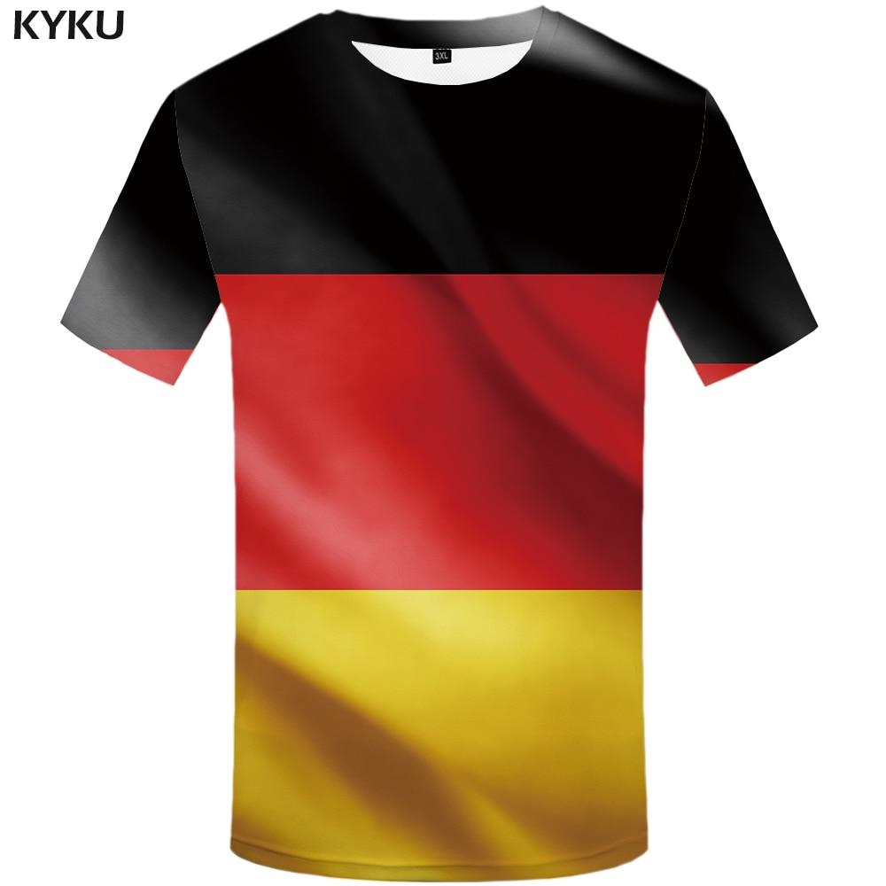 Germany T Shirt Free Custom Diy Name Number Deu T Shirt Nation Flag