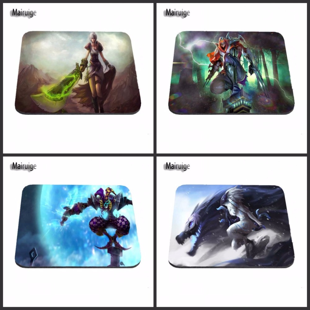 Custom Top Selling The League of Legends LOL Silon Anti-slip Mousepad Computer Gaming Mo ...