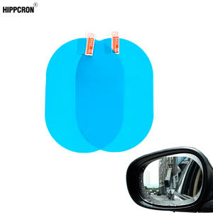 Protective-Film Car-Sticker Car-Rearview-Mirror Anti-Fog Waterproof 2pcs/Set