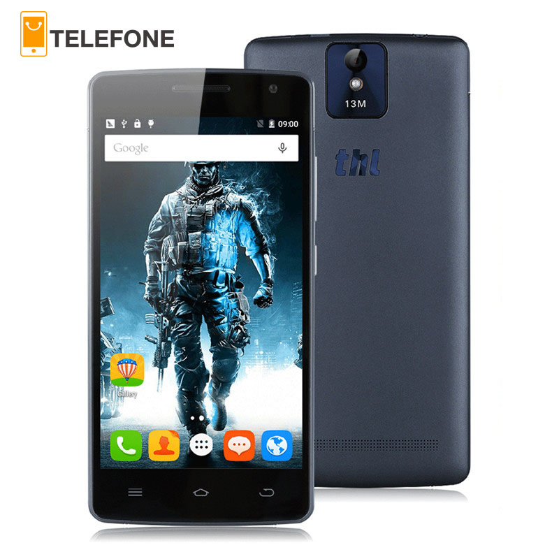 Free Case Original THL 2015A 5.0 4G Smartphone Android 5.1 MTK6735 64bit Quad Core Mobile Phone 2GB16GB Dual SIM Cell Phone
