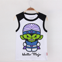 2019 Children Clothes Kids Tank Top Hello Mojo Cotton Animal Monkey Cartoon Funny Tops Boys Undershirt Sleeveless Shirt Tanks