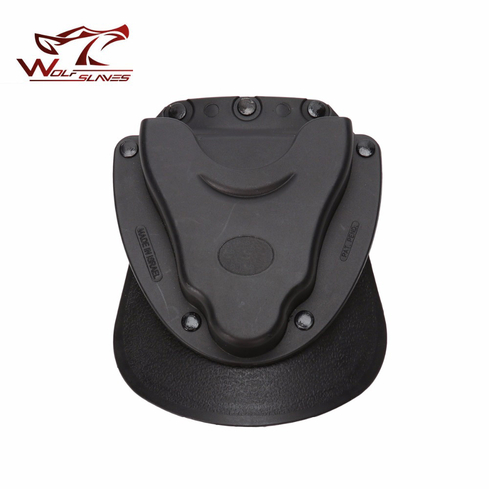 Tactical Handcuffs Police Holster Conceal Carry Light Weight Polymer Handcuff Case Holster Accessories Black Available Wholesale