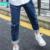 A15 adolescente vaqueros pantalones del otoño del resorte nuevos niños grandes vaqueros para chica Pantalones 2017 Pantalones Vaqueros de los Niños Tamaño 6 8 10 12 14 año
