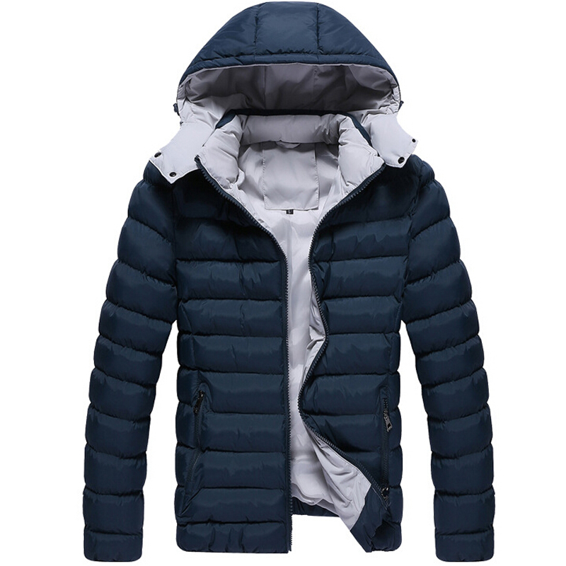 Aliexpress.com : Buy Winter Jacket Men Thick Warm Coat Fashion ...