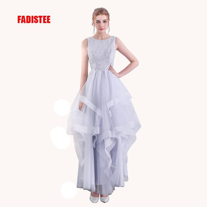 FADISTEE Новое поступление элегантные вечерние платья кружева длинный большой размер, для беременных Многоуровневое длинное стильное выпускн...