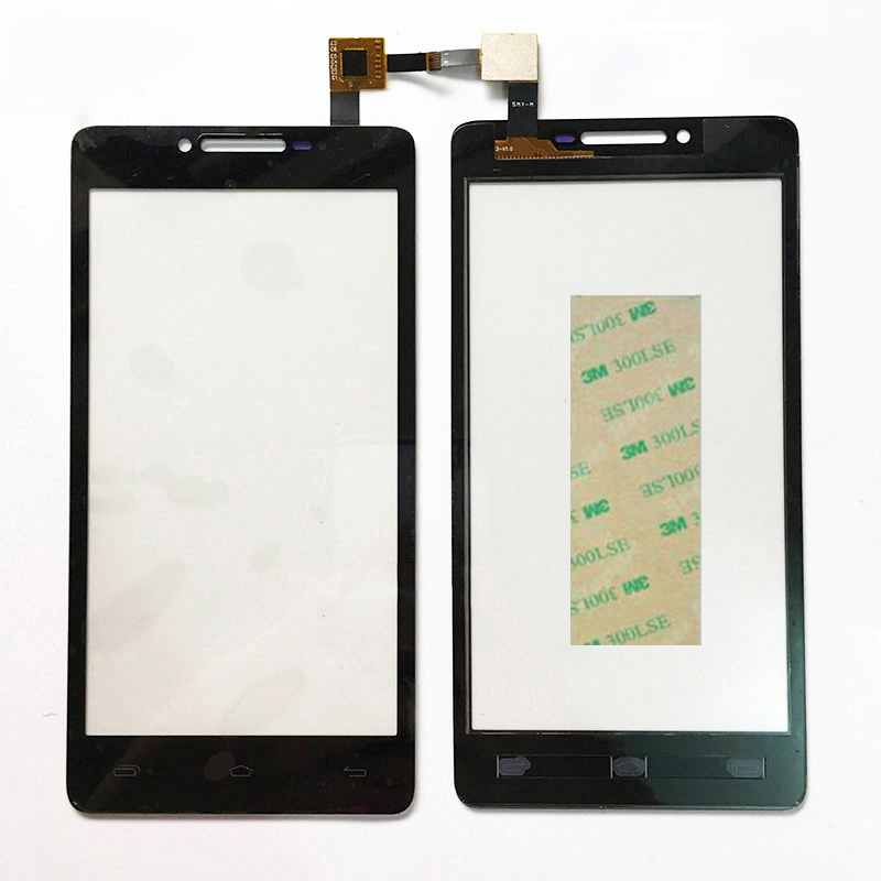 5.0 Inch Touchscreen Black Glass Panel For Prestigio MultiPhone PAP5500 PAP 5500 DUO Touch screen Sensor Digitizer Front Glass