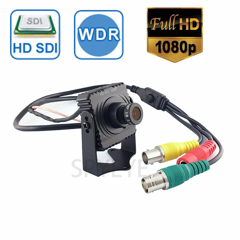 Mini HD SDI 1080P CCTV Surveillance Video Camera 2.1MP CMOS Full HD 1080P Cheap Mini Hd SDI Cameras With 3Mp Korea Lens mini hd sdi 1080p cctv surveillance video camera 2 1mp cmos full hd 1080p cheap mini hd sdi cameras with 3mp korea lens