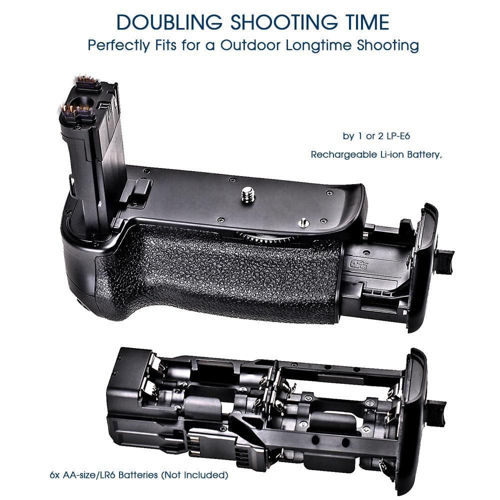 Travor Multi Power Vertical Grip za Canon 6D zamjenu za fotoaparat - Kamera i foto - Foto 4