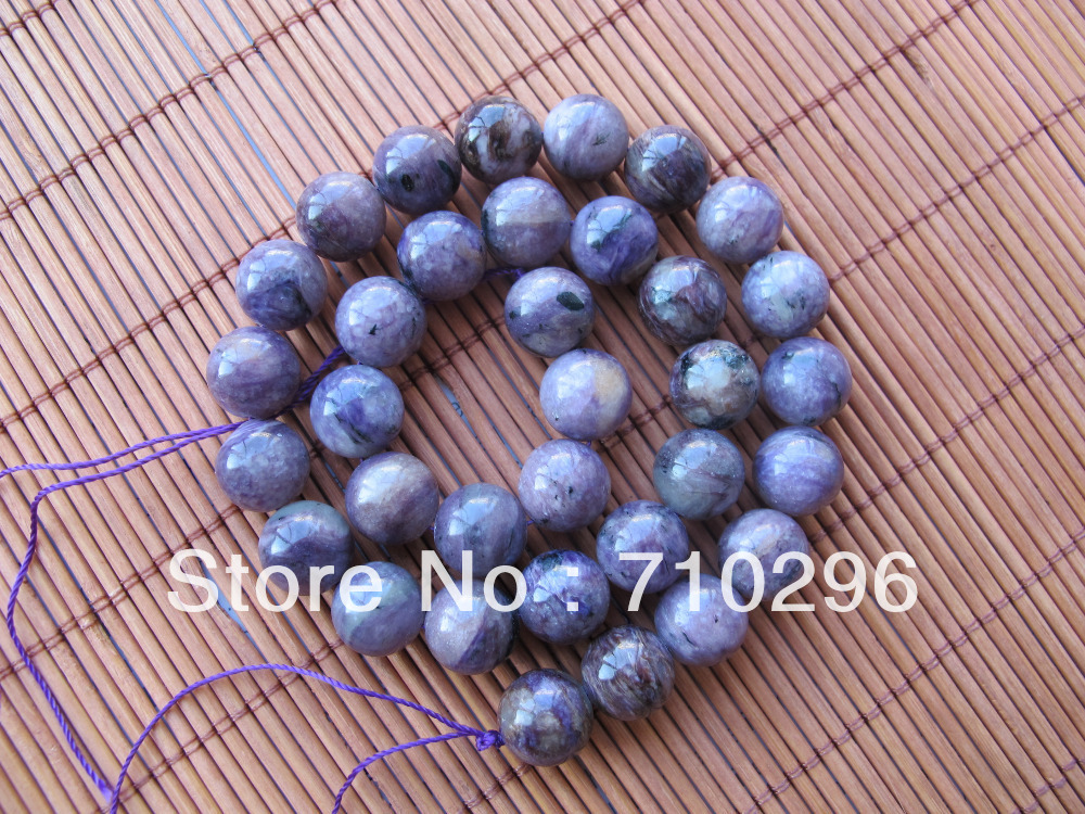 Natural Semi-precious stone 10mm Charoite beads,2stirngs/lot jewelry making beads 16inch/string natural green phantom crystal 10mm semi everlast crystal beads diy bracelets 40 cm string