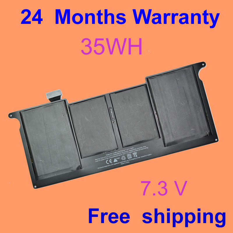 JIGU Laptop Battery For Apple MacBook Air 11 A1465 A1370 2011 Production Replace A1406 battery 7