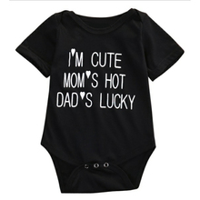 Fashion New Summer baby romper Newborn letter printing romper infants b