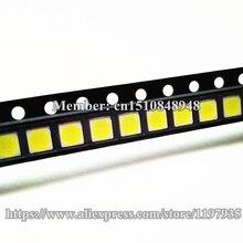 500шт светодиодная подсветка высокой мощности светодиод 1W 3030 6V 6.3V холодный белый 110-120LM