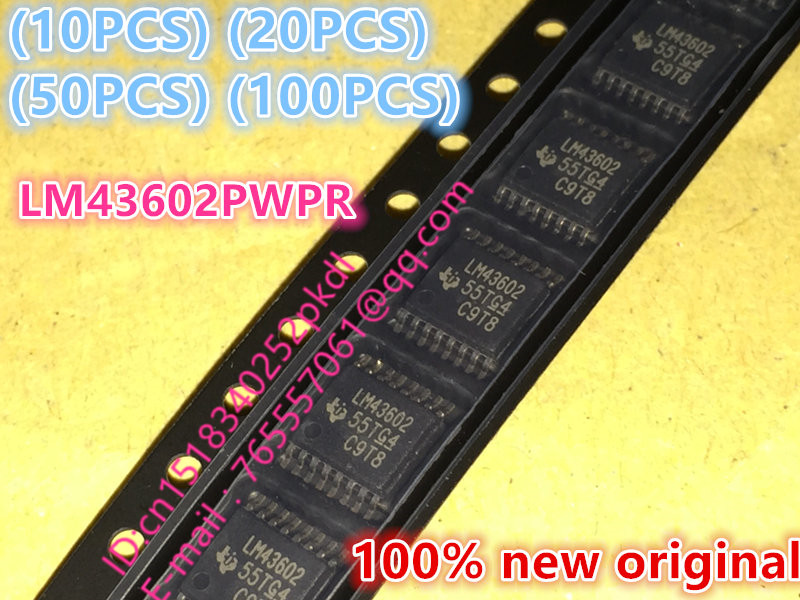 (10PCS) (20PCS) (50PCS) (100PCS) 100% New original LM43602 LM43602PWPR TSSOP16 switching regulator IC chip 10pcs 20pcs 50pcs 100pcs 100% new original tb9003fg tb9003f6 sop36 automotive ic chip