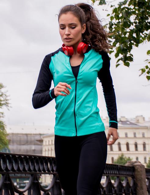 Women's Running Zipper Sport Jacket
