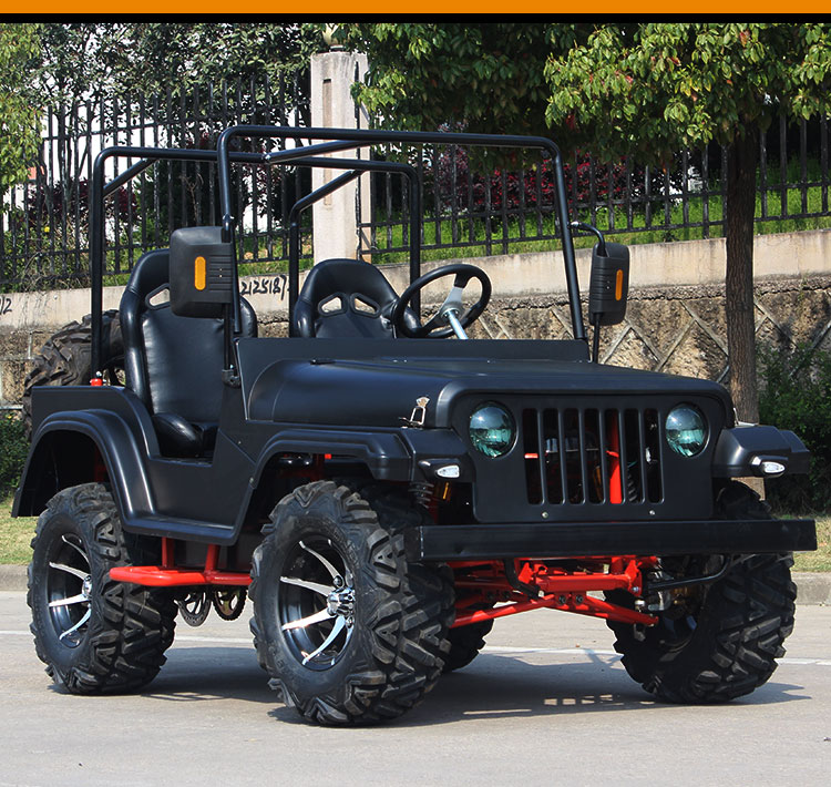 Wholesale Dropshipping 200cc Cvt Double Farmer Car Karting