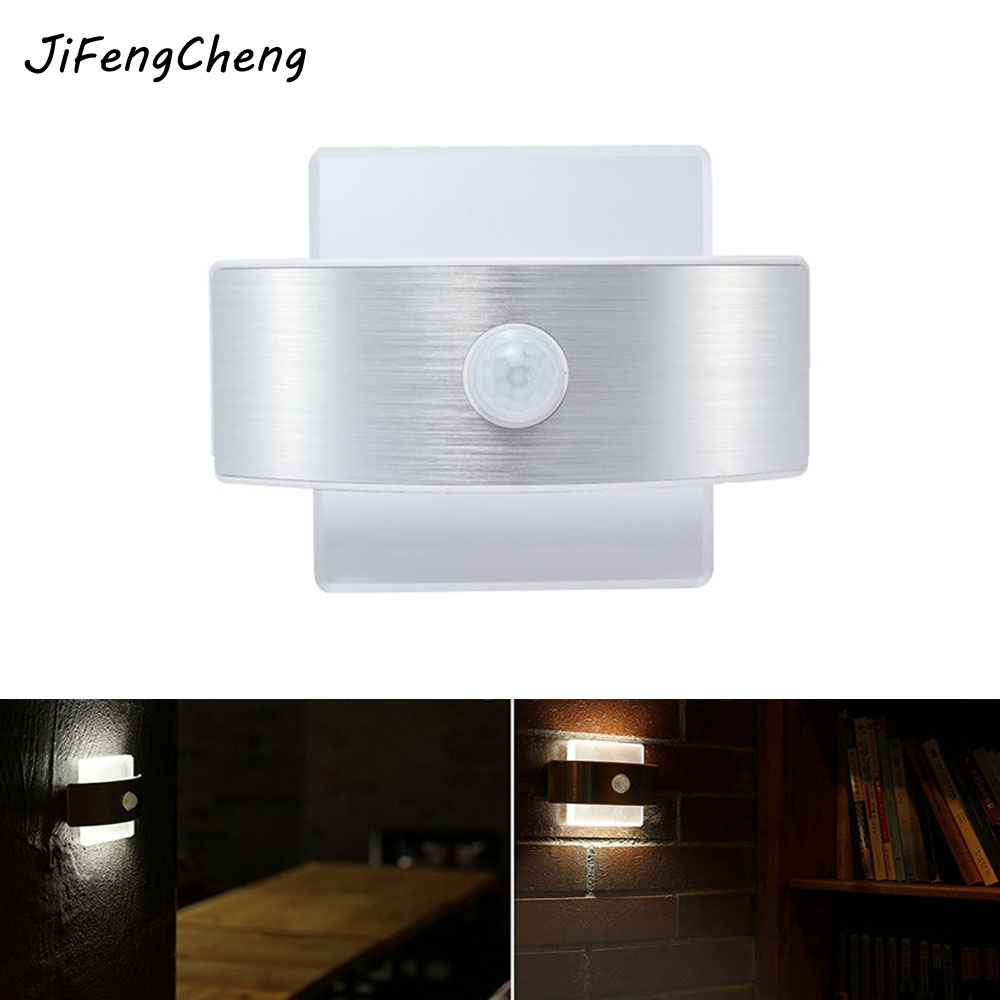 HGHomeart Human Infrared Sensor Night Light LED Motion Sensor Toys Wireless Wall Lamp Toilet Bedroom Bedside Children Nightlight wireless led wall stick anywhere energy saving human body sensor motion sensing night light lamp decoration door