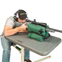 30x25x21 см Портативный Стрельба сзади пистолет остальные сумочки reartarget Охота Bench незаполненные стенд Принадлежности для оружия