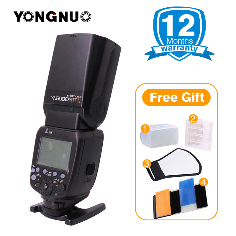 YONGNUO Official YN600EX-RT ii 2.4G Wireless HSS Master Flash Speedlite for Canon 750D 700D 650D 550D EOS Camera 600EX-RT/ST-E3 yongnuo yn e3 rt flash speedlite transmitter suit for canon 600ex rt as st e3 rt