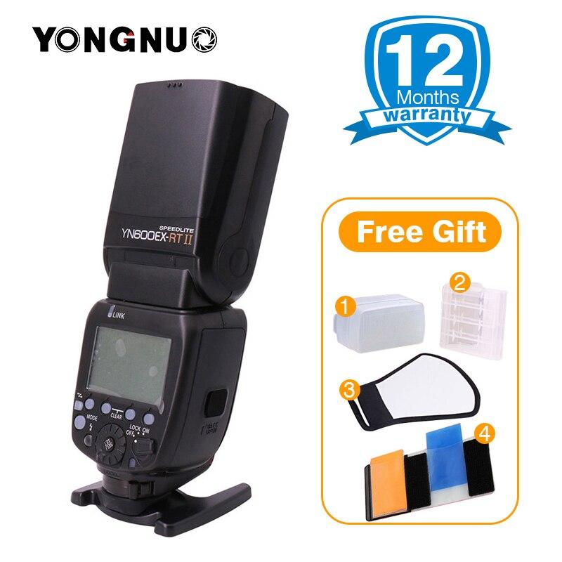 YONGNUO Ufficiale YN600EX-RT ii 2.4G Wireless HSS Master Flash Speedlite per Canon 750D 700D 650D 550D EOS Macchina Fotografica di 600EX-RT /ST-E3