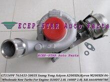 GT1549V 761433 761433-0003 761433-0002 A6640900880 Turbo For SSANG YONG Actyon A200XDi Kyron M200XDi 2006- D20DT 2.0L Xdi 140HP