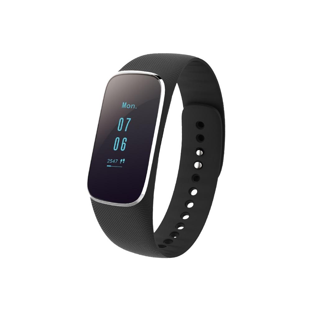 2018 new Sport Smart Armband Hartslag Sleep Monitor Beller-id Herinnering IP67 Waterdicht Smart Horloge voor Android iOS.