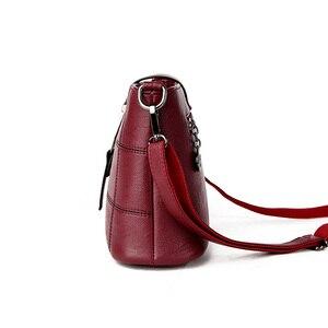 Image 3 - Роскошные клетчатые сумочки PHTESS, женские сумки, дизайнерские Брендовые женские сумки через плечо для женщин, кожаная женская сумка