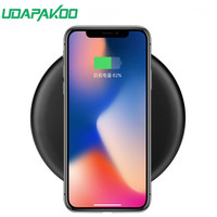 Wireless Charger For IPhone X 8 Plus Qi Fast Wireless Charging Pad Wireless Charger For Samsung