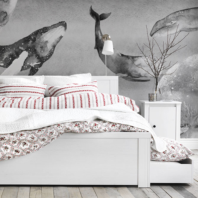 Free Shipping custom bedroom living room children room wallpaper aquarium non-woven wallpaper 3D stereo dolphin mural  free shipping 3d stereo angel rome column fantasy wallpaper mural custom dining room children room background wallpaper