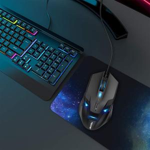 Image 5 - TeckNet Wired Gaming Mouse Ergonomic Mice 6 Button Optical Computer Mouse 2000dpi USB Wired PC Mouse for Computer Laptop PC