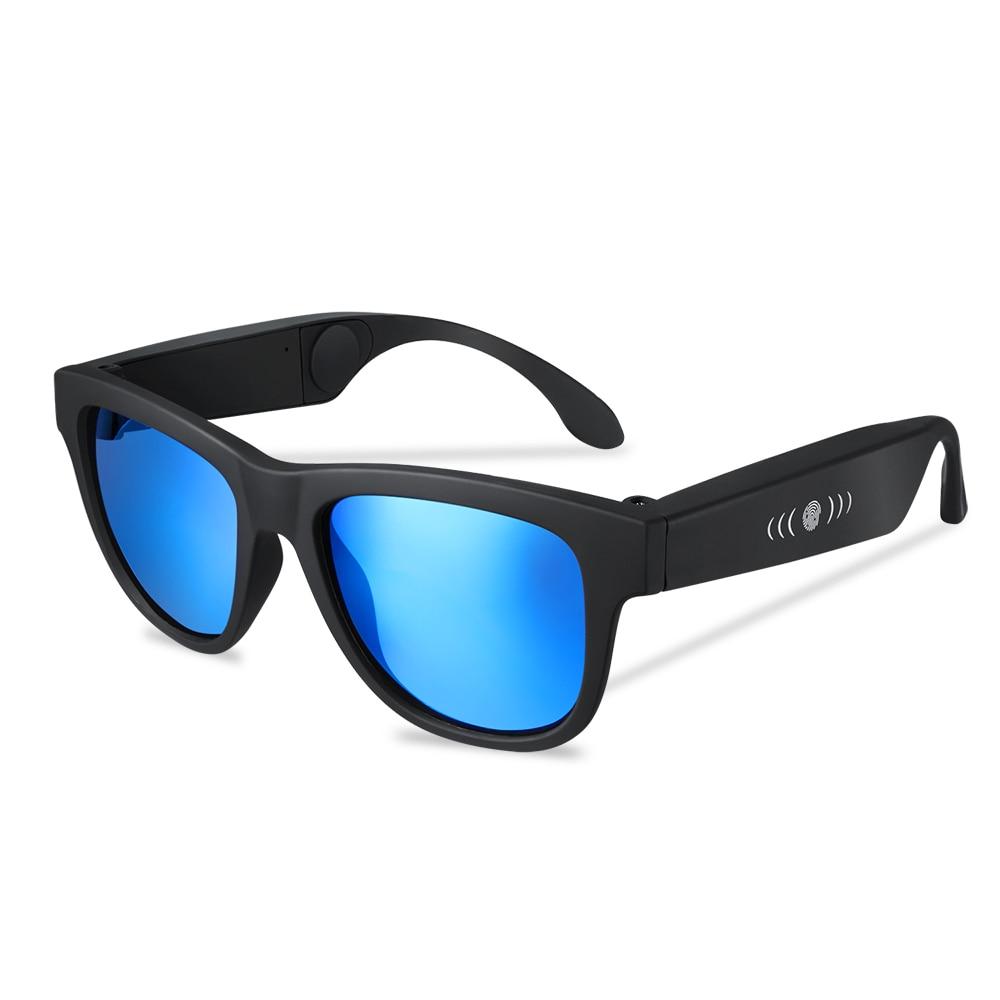 AOSANG G1 Conduzione Ossea Cuffie Occhiali Da Sole Auricolare Bluetooth Occhiali Da Sole Polarizzati Occhiali SmartTouch Stereo Senza Fili di Musica Auricolare