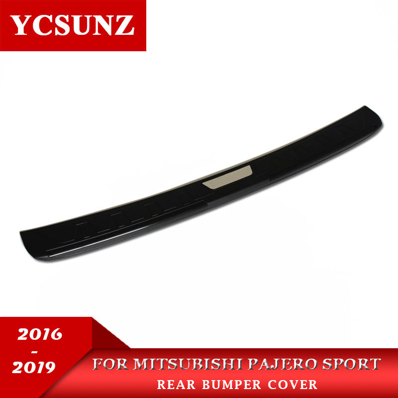 2016 2019  rear bumper For Mitsubishi Pajero Sport exterior bumper For Mitsubishi Montero Pajero Sport 2017 accessories Ycsunz-in Body Kits from Automobiles & Motorcycles    1