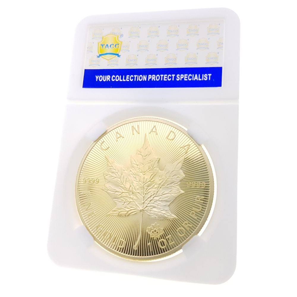 Commemorative Coin Collection Medal Souvenir Badge Coin Silver Anniversary 2015 Canadian Maple Leaf Commonwealth Queen Gold Coin