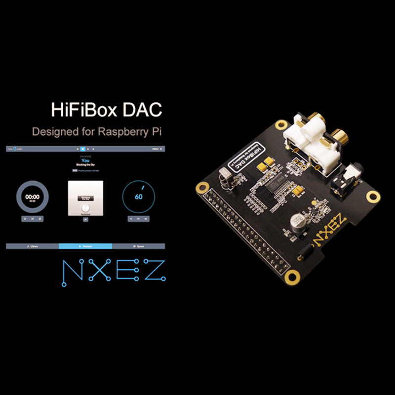 Hifibox Dac Expansion Board Sound Card I2s Dac Expansion