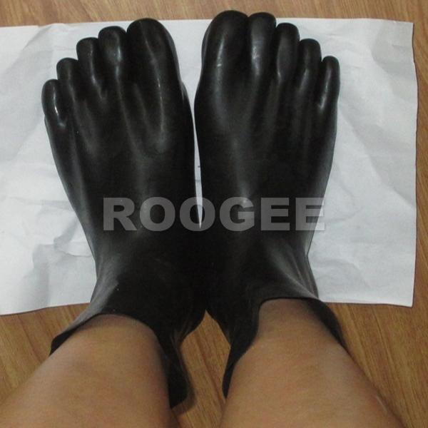 Dedo del pie calcetines de látex para adultos de tamaño S, M, L