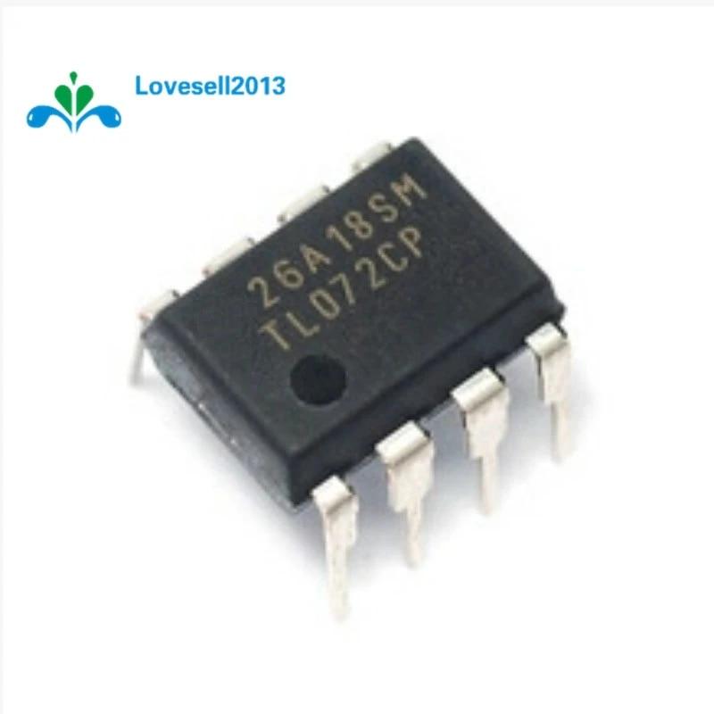 10pcs Deal TL072 Dual Low Noise JFET Op Amp  IC x10 Chips Sale Dip8 Uk Stock