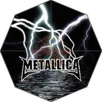 Hot Sprzedaż Klienta Metallica Sztuki Światła Dorosłych Uniwersalny Fashion Design Składany Parasol Dobry Pomysł Na Prezent! Darmowa Wysyłka U30-96