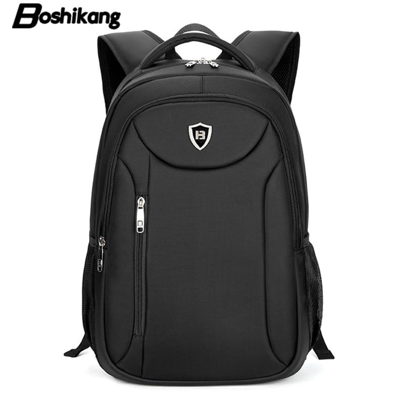 boshikang homens laptop mochila 15.6 Estilo : Couro Genuíno