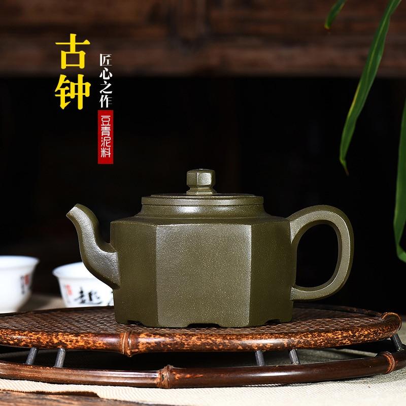 Yixing minerai brut rouge foncé émaillé poterie théière Source fabricant en gros génération cheveux Wechat entreprise approvisionnement