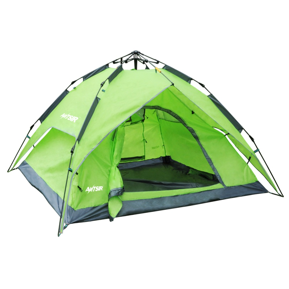 Four season Ten One touch Tent Waterproof Anti UV Simple Installation and Folding Breathable 3 4 Person Family Hiking Camping|Tents| |  - title=