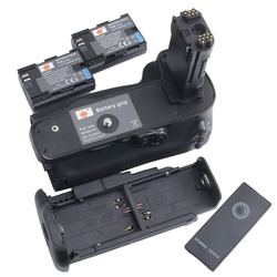 DSTE Multi-Power Vertical Battery Grip for Canon EOS 5D Mark IV Camera Battery Handgrip Holder Remote Control With 2PCS LP-E6 N