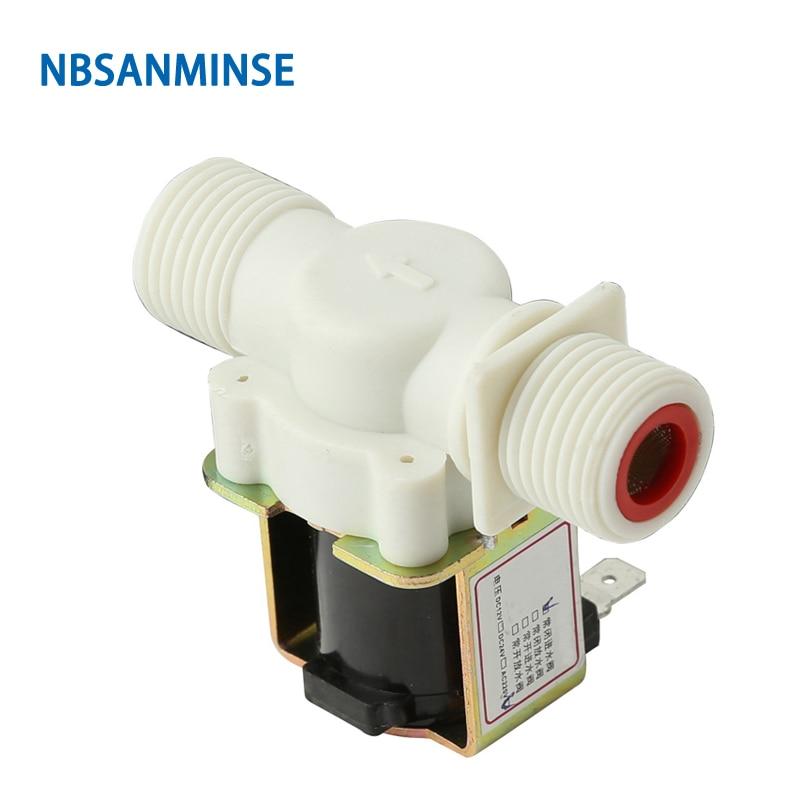 Nbsanminse Smpdj 23 Water Solenoid Vavle G1/2 Inch Dc12v Water Dispenser Washing Machines Dishwashers