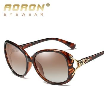 AORON Fashion Womens Polarized Sunglasses Women fox style Sung Lasses  Accessories UV400 Eyeglasses 4