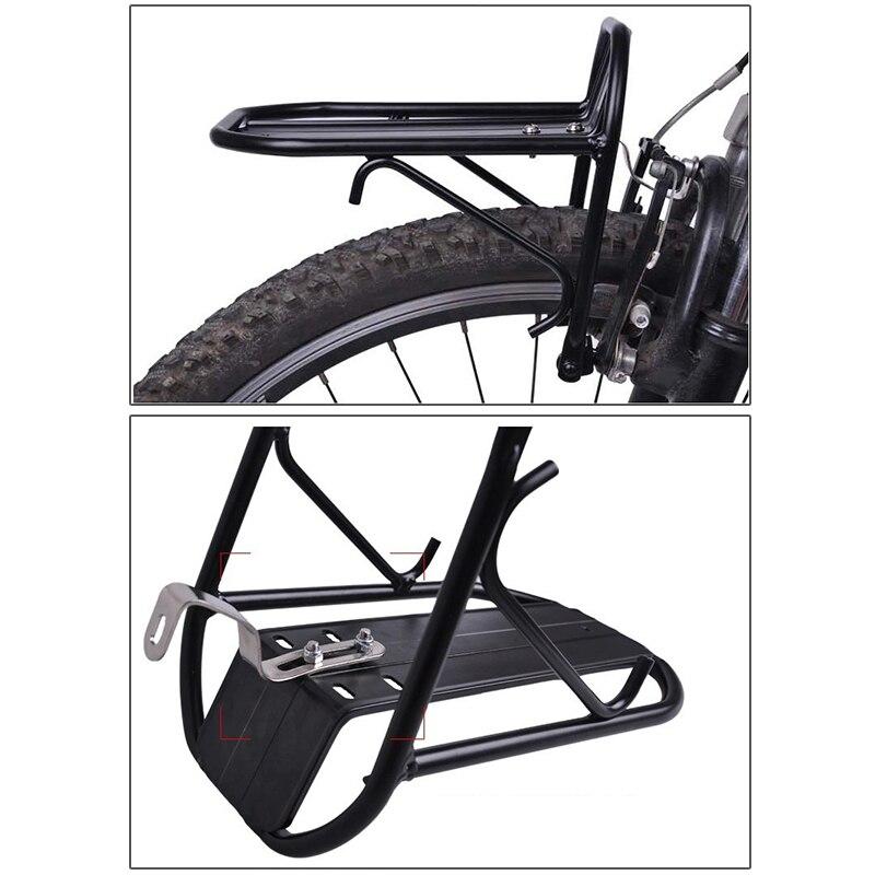 Aluminum Alloy Bike Front Shelf Bicycle Goods Carrier Pannier Luggage Rack Pro